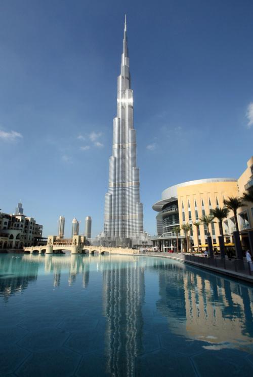 Burj Khalifa Talles Skycrapper