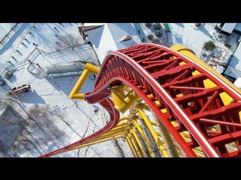Cedar Point Top Thrill Dragster Point Of View