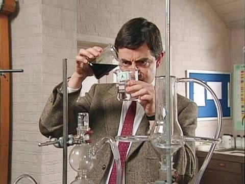 Mr Bean - Back to school
