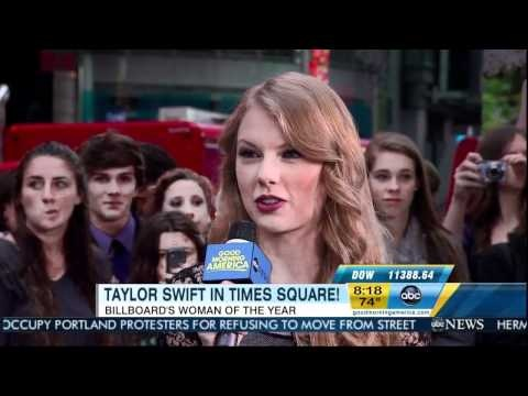 Taylor Swift on Good Morning America 10/13