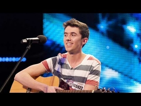 Ryan O'Shaughnessy on Britain's Got Talent 2012 audition