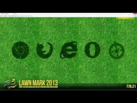 Internet Explorer 11: Hardware accelerated HTML5 with Lawn Mark Demo