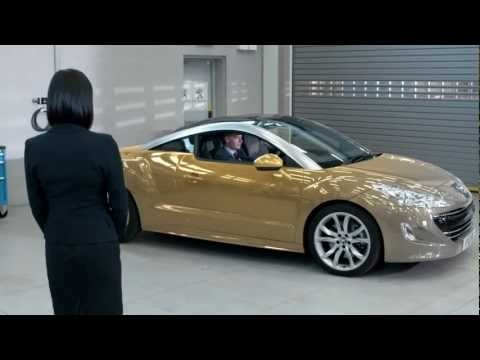 Peugeot RCZ - Mood Paint Demonstration