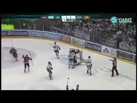 Hockey Player Hugs the Wrong Guy