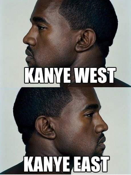 Kayne West and East