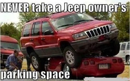 Jeep Parking Space