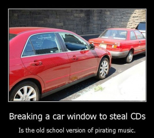 Pirating Music - The Old Way