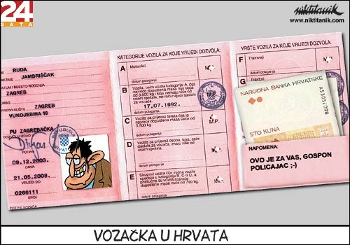 licence on croatia